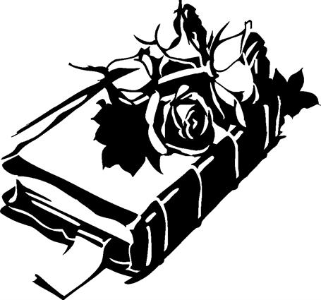 Bible with Roses