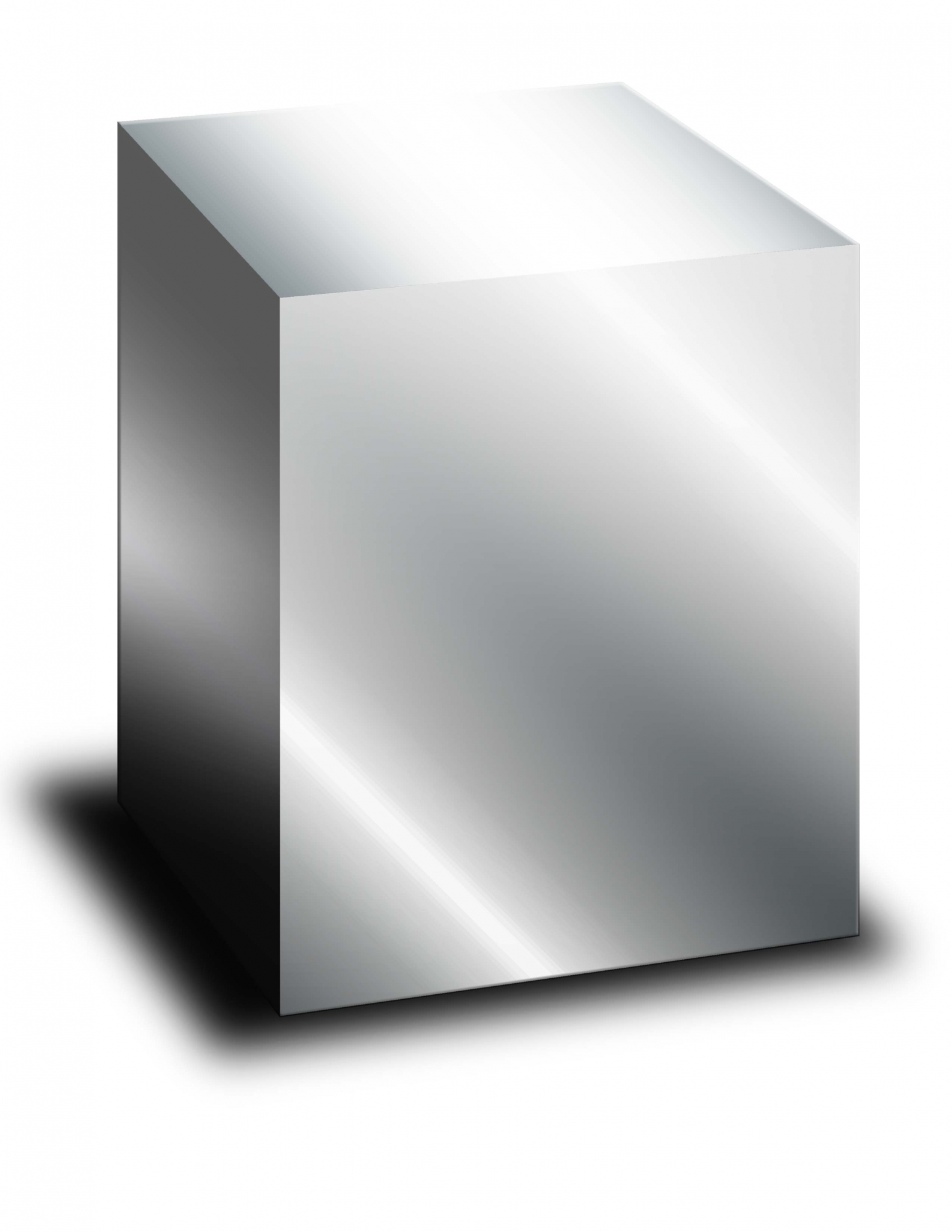 Cremation Urn Steel Rectangle